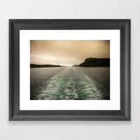 Night Or Day? Framed Art Print