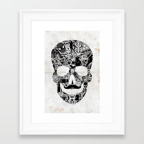 My Skull Framed Art Print