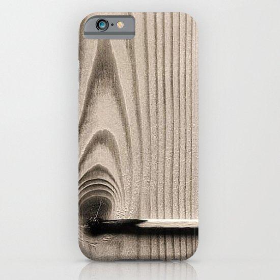 wood//firestick iPhone & iPod Case