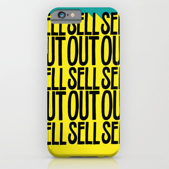 SELL SELL SELL OUT! iPhone & iPod Case