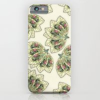 iPhone Cases featuring Colorful Leaves 4 by Klara Acel