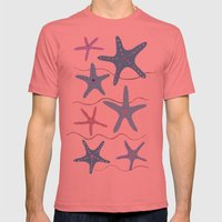Lady At The Window Mens Fitted Tee Pomegranate SMALL