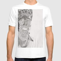 Ders Mens Fitted Tee SMALL White
