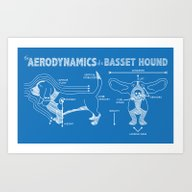 The Aerodynamics Of A Ba… Art Print