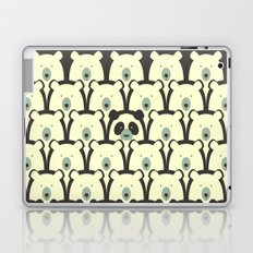 Panda and bears seamless cartoon pattern Laptop & iPad Skin
