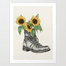 Shoe Bouquet I Art Print