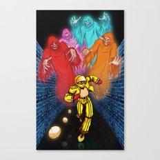 パックマン! (Pac-man!) Canvas Print