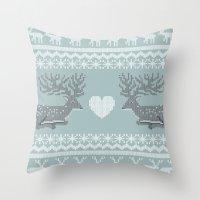 Dear & Love Throw Pillow