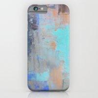Painterly Blues iPhone 6 Slim Case