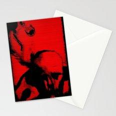 Parasite Oddity (Red Mix) Stationery Cards