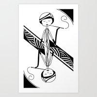 Playing Card - Joker Art Print