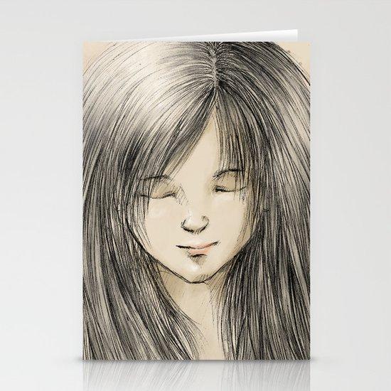 hair dreams Stationery Card