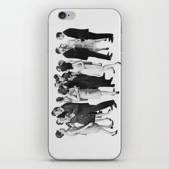 white people iPhone & iPod Skin