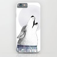iPhone & iPod Case featuring Mr. Wolf by missmalagata