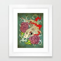 You Dont Bring Me Flower… Framed Art Print