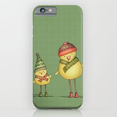 Two Chicks - green Slim Case iPhone 6s