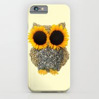 iPhone & iPod Case featuring Hoot! Day Owl! by Marco Angeles
