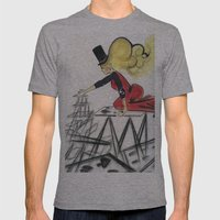 Abracadabra Mens Fitted Tee Athletic Grey SMALL