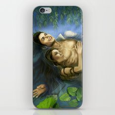 Michael and Lisa Marie Lily Pads iPhone & iPod Skin