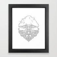 The Deku Tree Framed Art Print