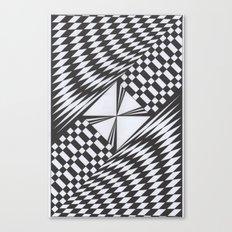 Crosswise Canvas Print