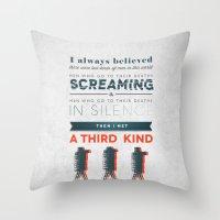 The Third Kind Throw Pillow