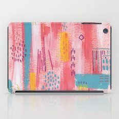 Pink Abstract iPad Case