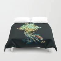 ElectriciTree Duvet Cover