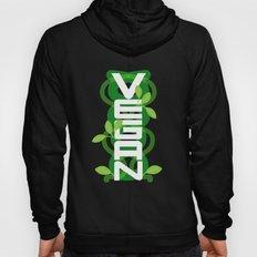 Vertical Vegan on Black Hoody