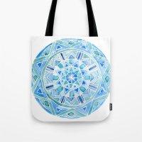 Blue Mandala 1 Tote Bag