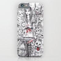 wonderland shattered iPhone 6 Slim Case