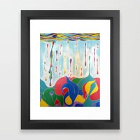Plenty Of Sea In The Fish Framed Art Print