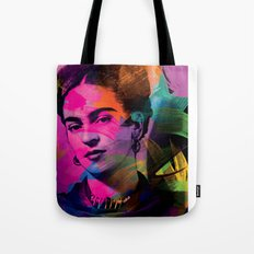 Frida Kahlo - Colors Tote Bag