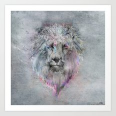 Heart like a Lion Art Print