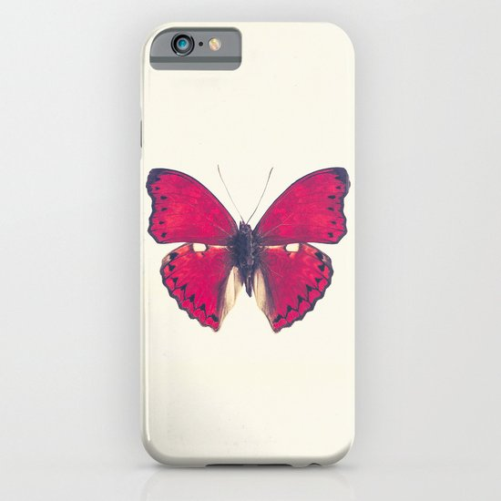 Red Butterfly iPhone & iPod Case