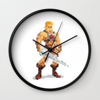 By The Power Of 8-Bit Wall Clock