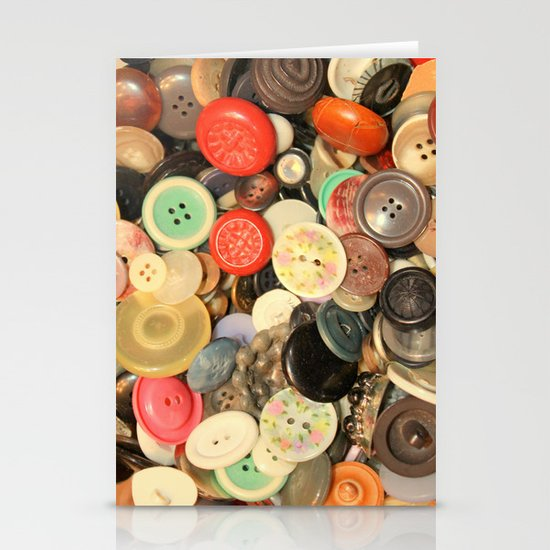 Push My Buttons Stationery Card