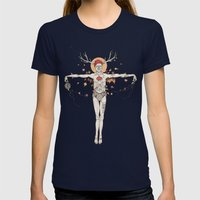 In good we trust Womens Fitted Tee Navy SMALL