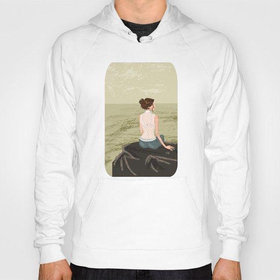 Girl by the Sea Hoody