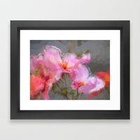 Oriental Bloom Framed Art Print