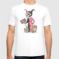 Fionna Quinn Mens Fitted Tee White SMALL