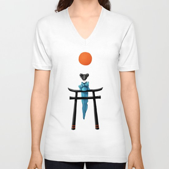 Torii V-neck T-shirt