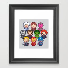 Assemble! Framed Art Print