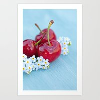 Cherry Beauty Art Print