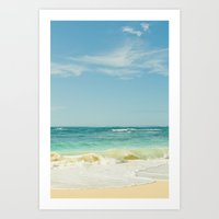 Beach Love Maui Style Hawaii Art Print