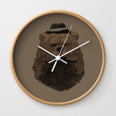 Grizzly Beard Wall Clock