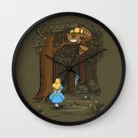 My Neighbor In Wonderlan… Wall Clock