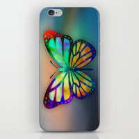 Vivid Butterfly iPhone & iPod Skin