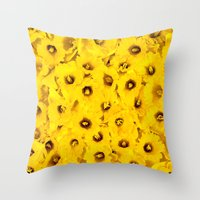 Daffodils En-masse Throw Pillow