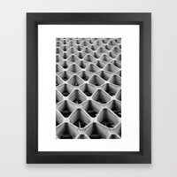 American Cement Building - Architectural Photography Framed Art Print